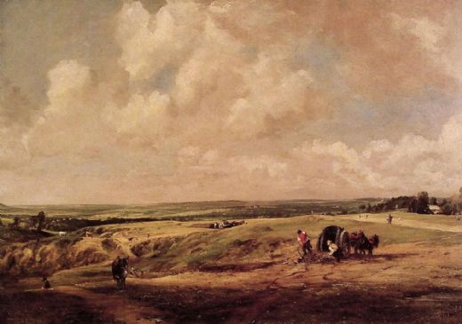 john constable hamstead heath paintings