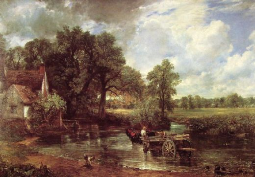 john constable the haywain 1821 paintings