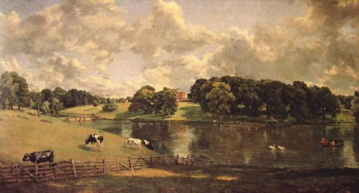 john constable wivenhoe park painting