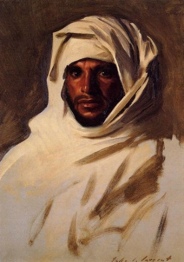 john singer sargent a bedouin arab paintings