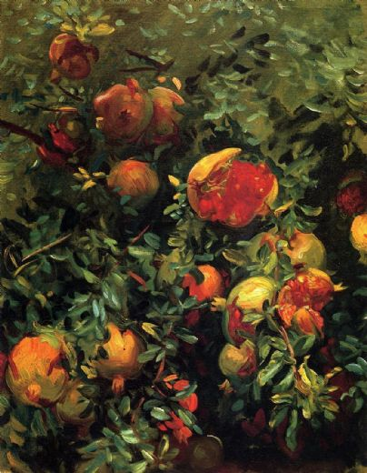 john singer sargent pomegranates paintings