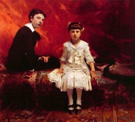 john singer sargent portrait of edouard and marie loise pailleron paintings