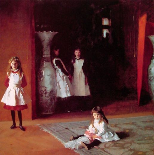 john singer sargent the daughters of edward darley boit paintings