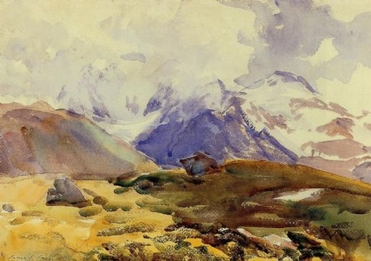 john singer sargent the simplon paintings