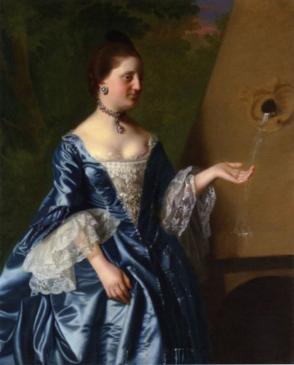 john singleton copley mrs. alice hooper painting
