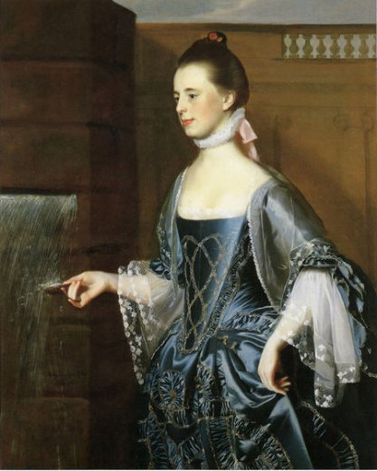 john singleton copley mrs. daniel sargent mary turner sargent painting