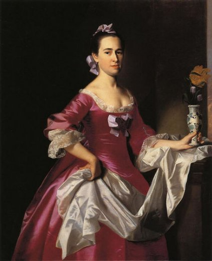john singleton copley mrs george watson elizabeth oliver paintings