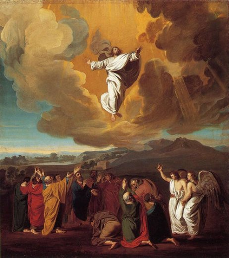 john singleton copley the ascension painting