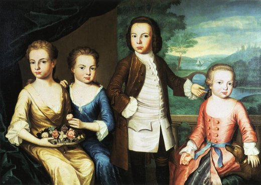 john singleton copley the gore children painting