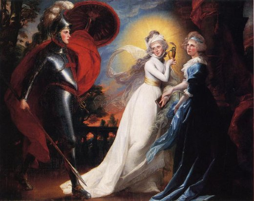 john singleton copley the red cross knight painting