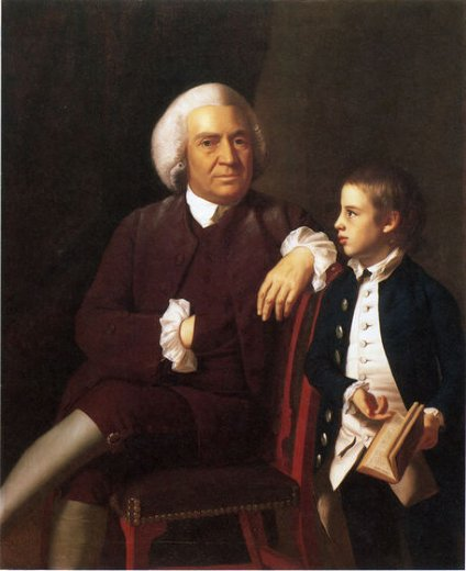 john singleton copley william vassall and his son leonard prints