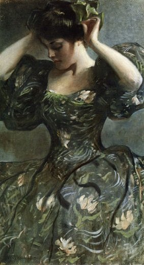 john white alexander the green bow paintings