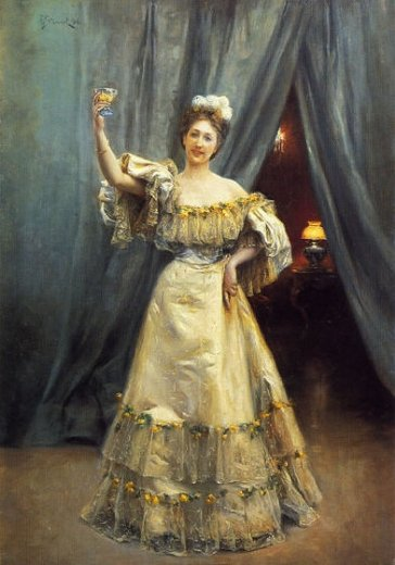 julius leblanc stewart a toast paintings