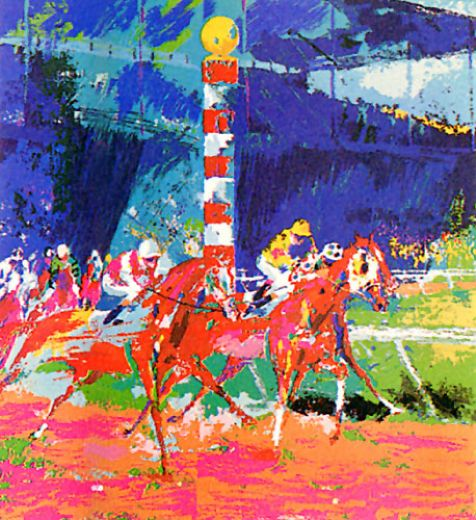 leroy neiman clubhouse turn paintings