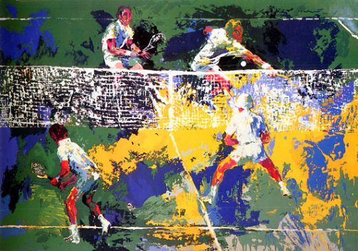 leroy neiman doubles painting
