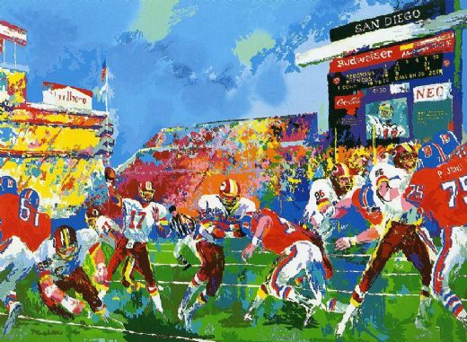 leroy neiman in the pocket paintings