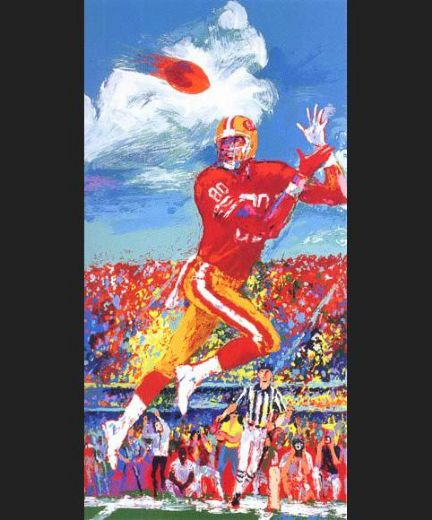 leroy neiman jerry rice paintings
