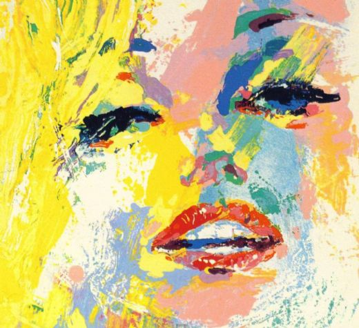 Leroy neiman marilyn monroe painting leroy neiman for Artwork on canvas for sale