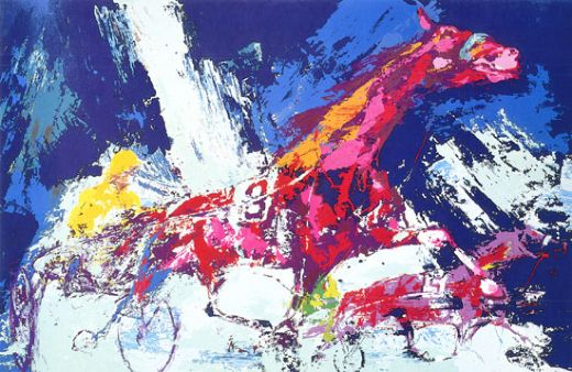 leroy neiman trotters paintings