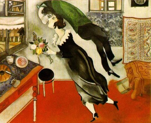 marc chagall birthday paintings