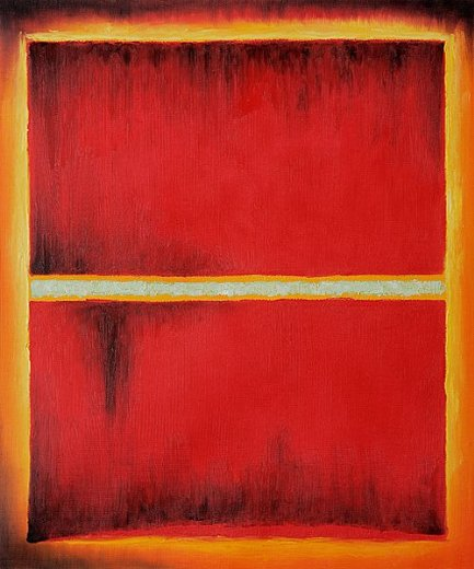 mark rothko saffron 1957 painting