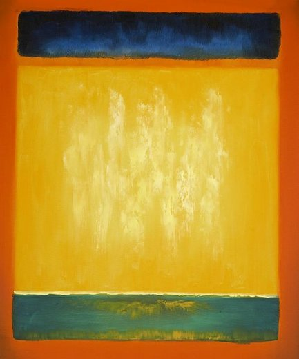 mark rothko untitled blue yellow and green on red paintings