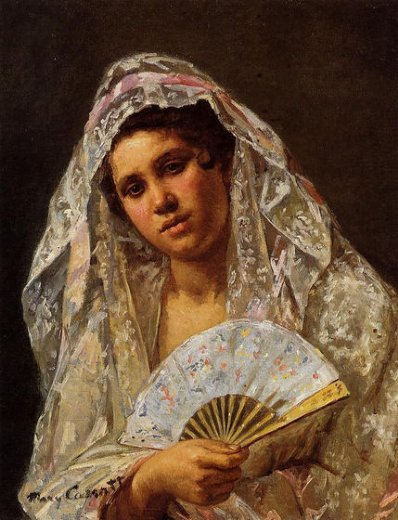 mary cassatt a seville belle paintings