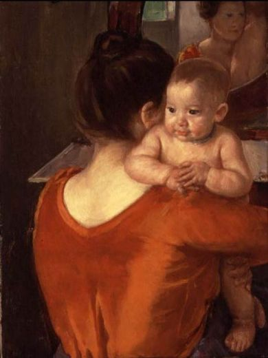 mary cassatt mother and child 1900 paintings