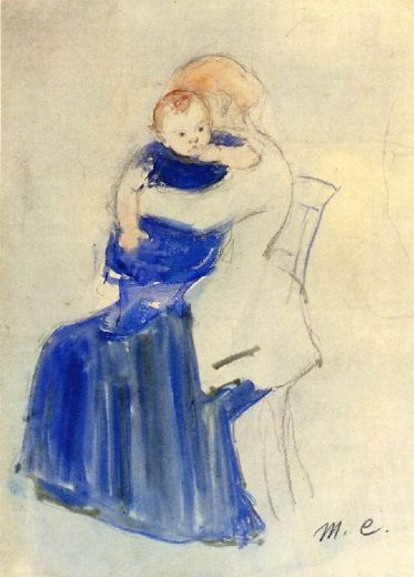 mary cassatt mother and child 5 paintings