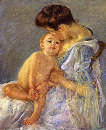 mary cassatt motherhood ii paintings