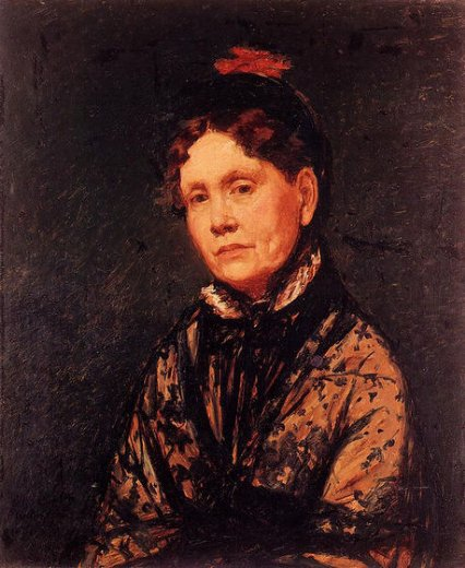 mary cassatt mrs. robert simpson cassatt painting