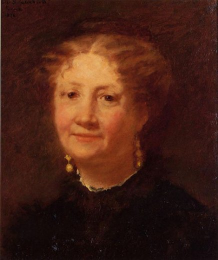 mary cassattportrait of madame cordier Painting-29075