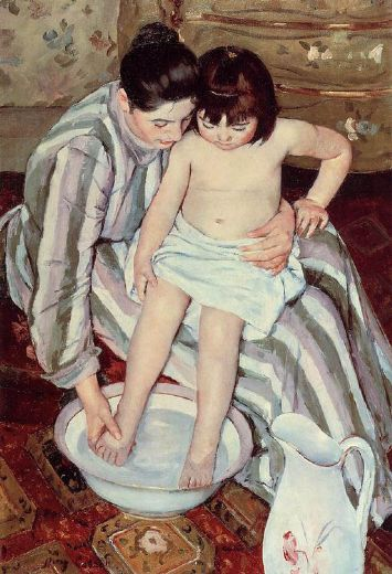 mary cassatt title unknown paintings