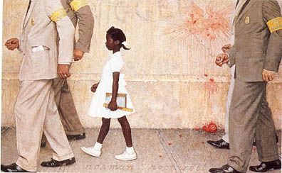 The-problem-we-all-live-with-norman-rockwell painting