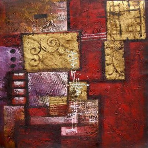 Original paintings modern abstract 16 painting original for Modern abstract paintings for sale
