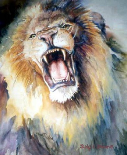 Famous Lion Paintings | www.pixshark.com - Images ...