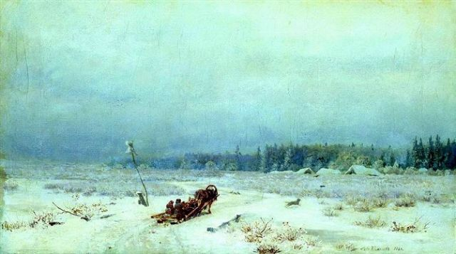 original winter russia 38 painting