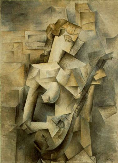 pablo picasso girl with mandolin fanny tellie paintings