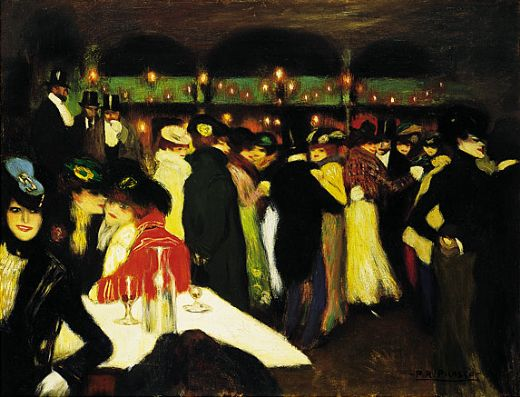 pablo picasso le moulin de la galette paintings