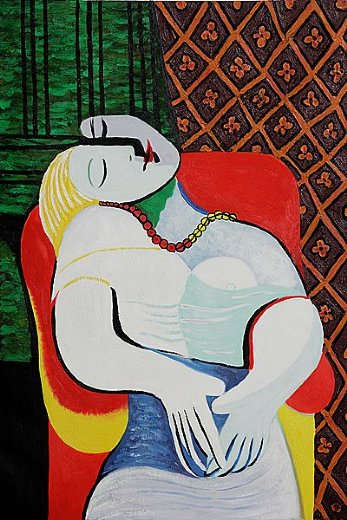 Pablo Picasso The Dream Painting Amp Pablo Picasso The Dream