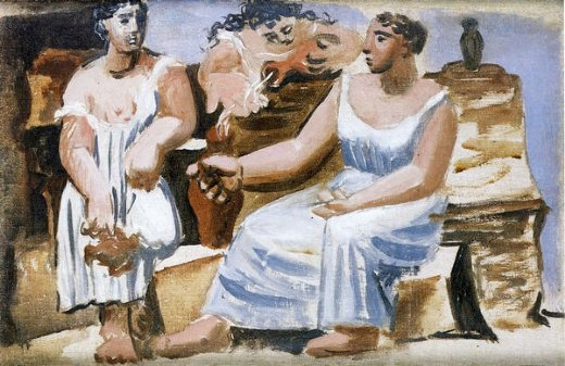 pablo picasso three women at a fountain paintings