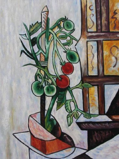 pablo picasso tomato plant ii paintings