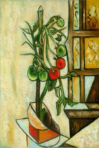 pablo picasso tomato plant paintings