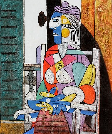 pablo picasso woman seated before the window paintings