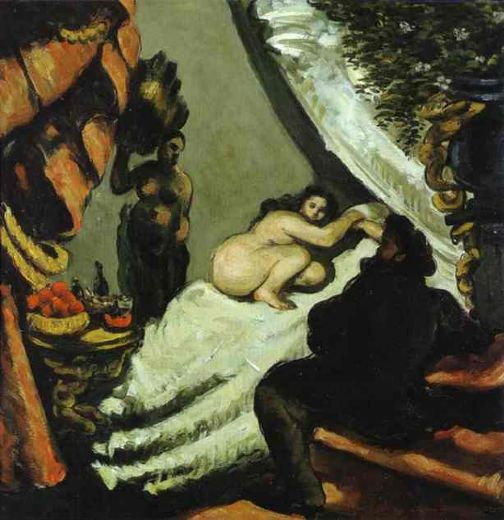 paul cezanne a modern olympia paintings