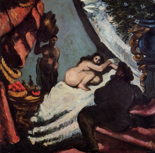 paul cezanne a modern olympia pasha paintings