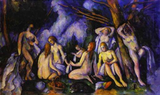 paul cezanne big bathers painting