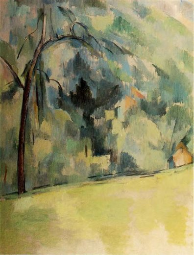 paul cezanne morning in provence paintings