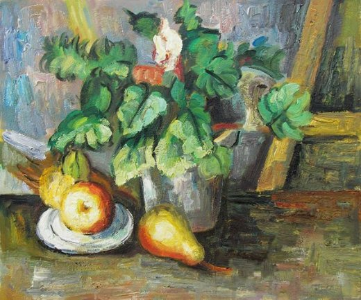 Shopping Paul Cezanne Plate With Fruit And Earthenware