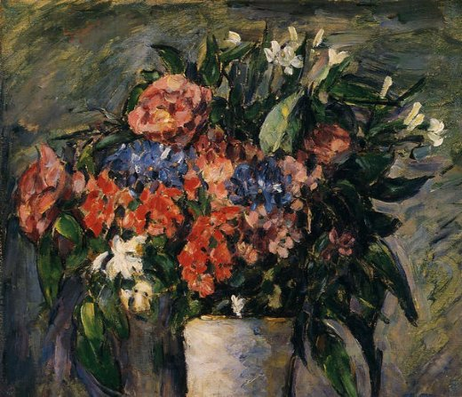 paul cezanne pot of flowers paintings